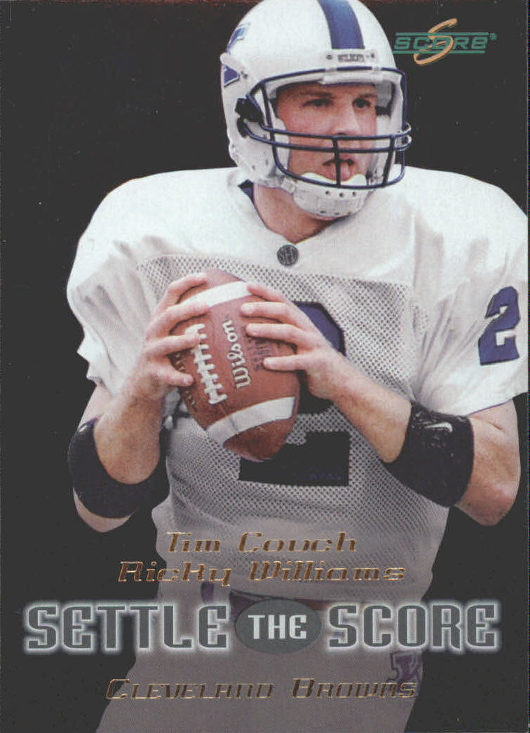 1999 Score Settle the Score #24 T.Couch/R.Williams