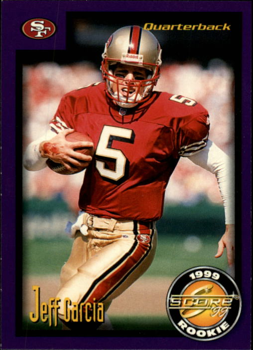 1999 Score Supplemental #S53 Jeff Garcia RC