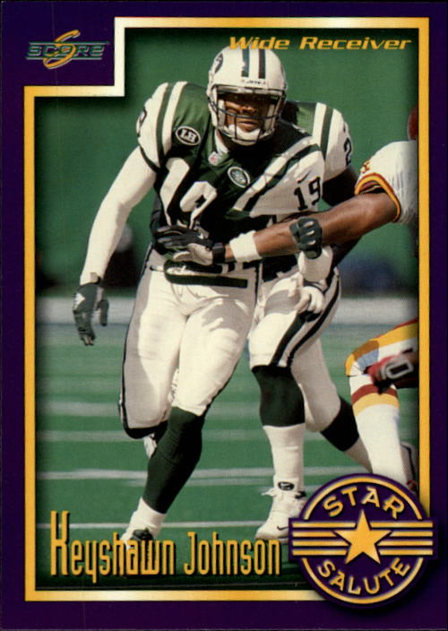 1999 Score Supplemental #S107 Keyshawn Johnson SS