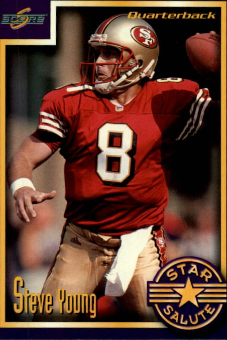 1999 Score Supplemental #S109 Steve Young SS