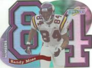 1999 Score Supplemental Behind the Numbers #BN3 Randy Moss