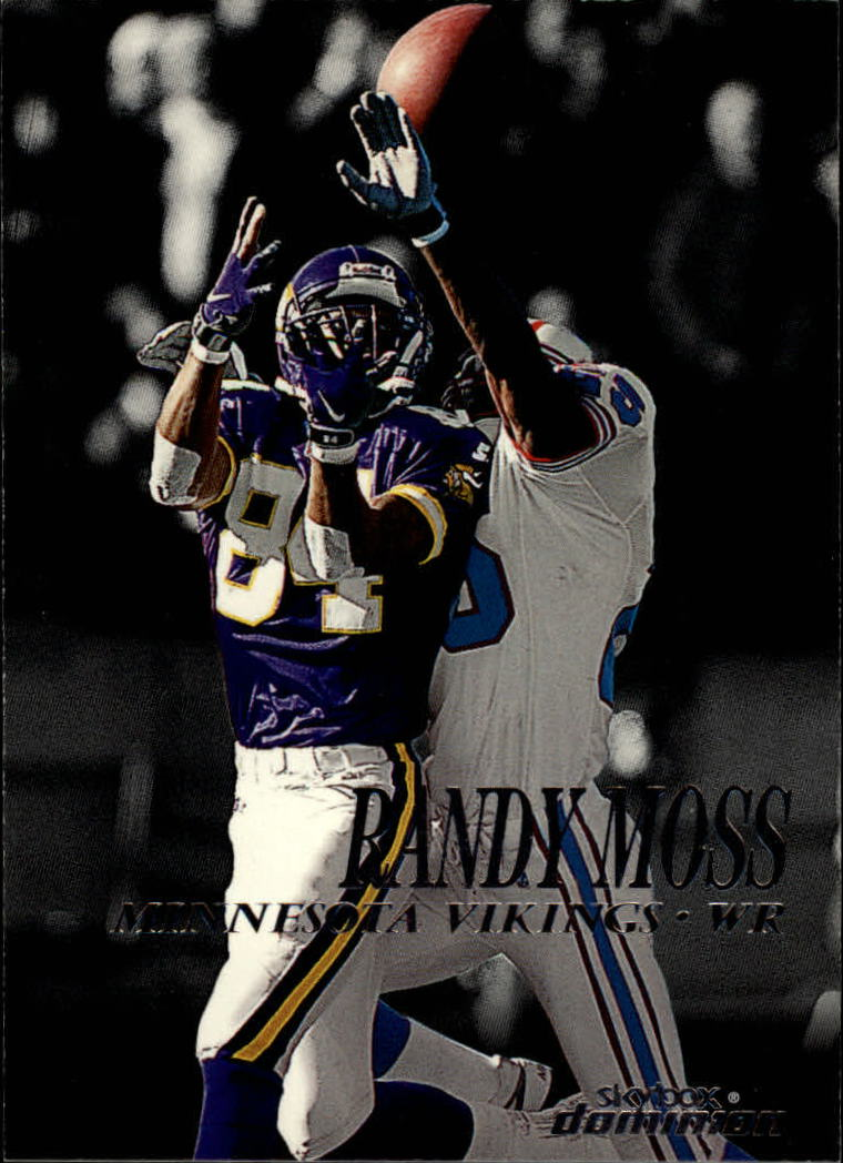 1999 SkyBox Dominion #1 Randy Moss