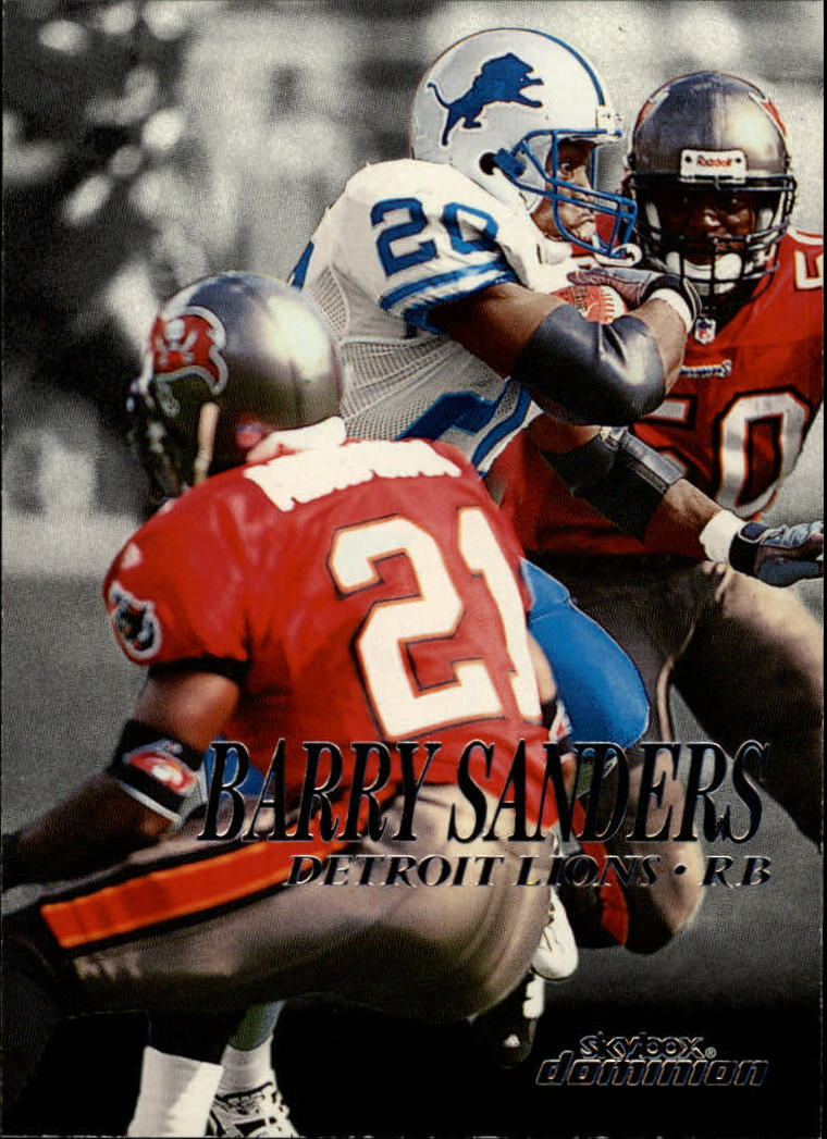 1999 SkyBox Dominion #10 Barry Sanders