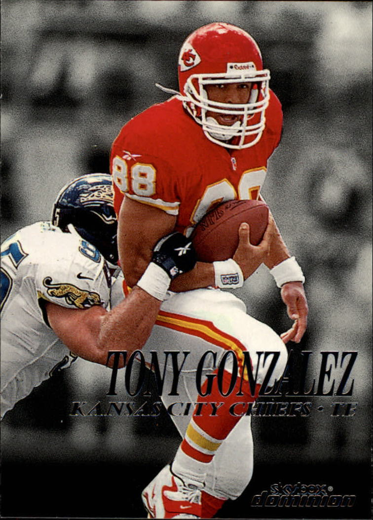 1999 SkyBox Dominion #11 Tony Gonzalez