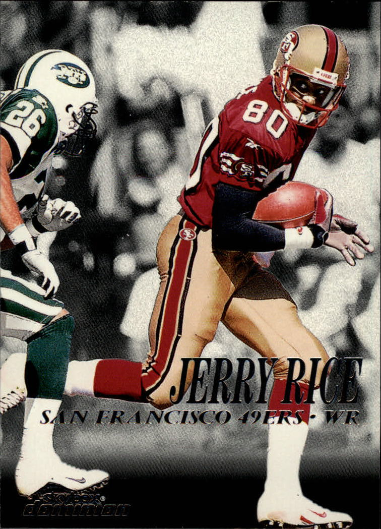 1999 SkyBox Dominion #31 Jerry Rice