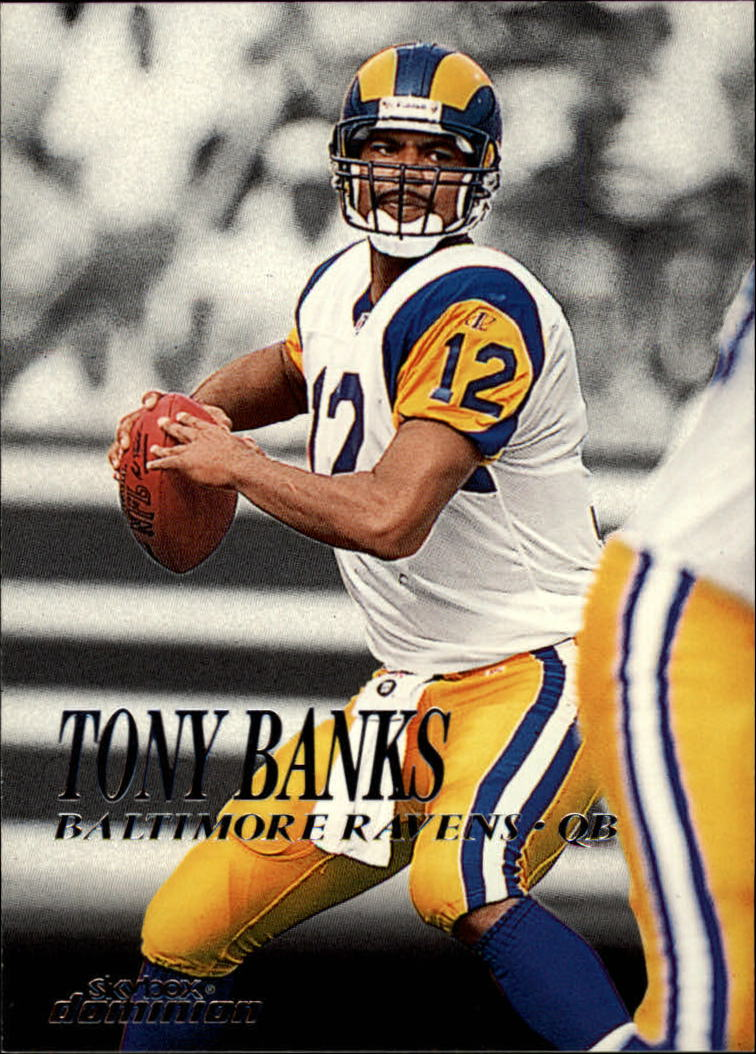 1999 SkyBox Dominion #33 Tony Banks