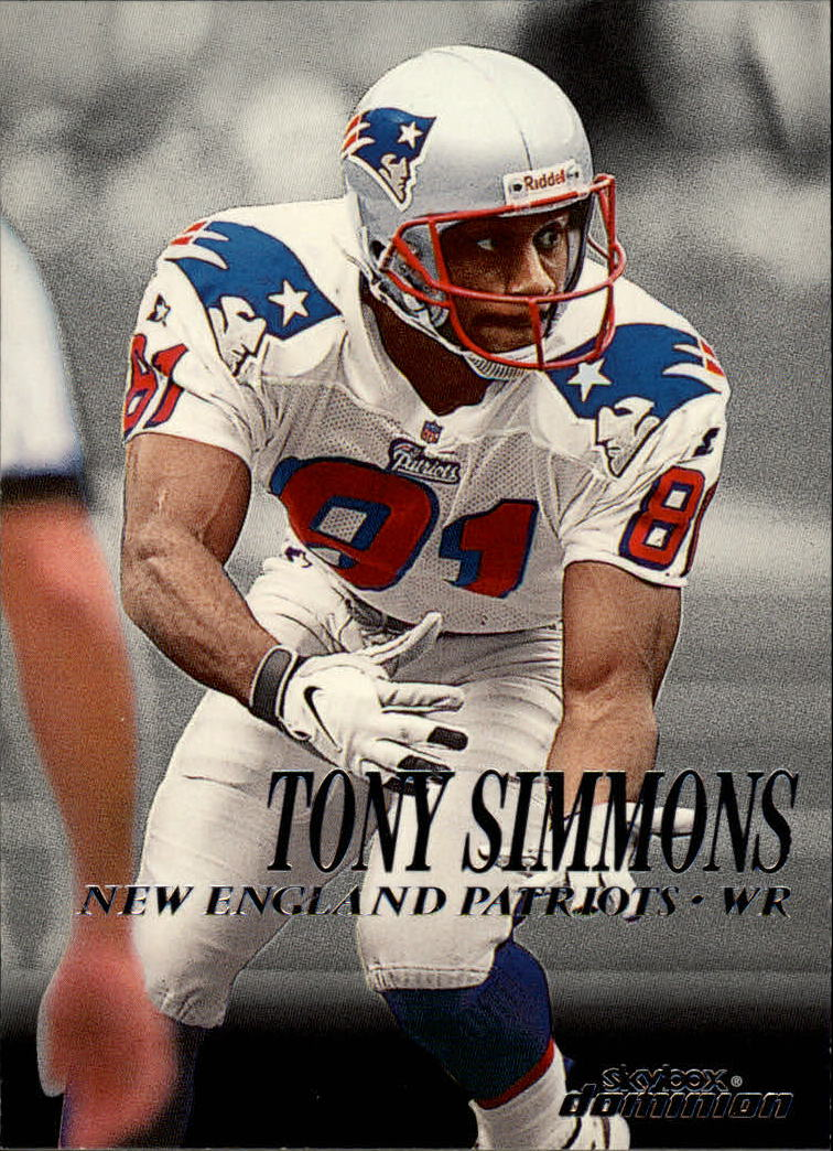 1999 SkyBox Dominion #36 Tony Simmons