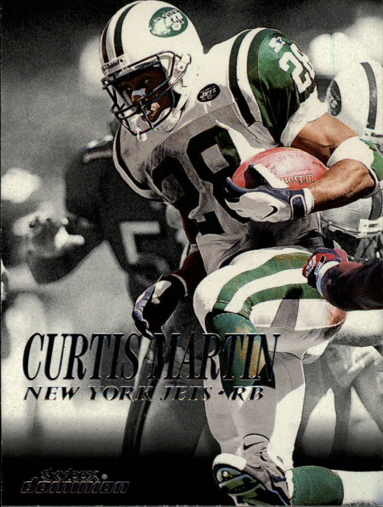 1999 SkyBox Dominion #115 Curtis Martin