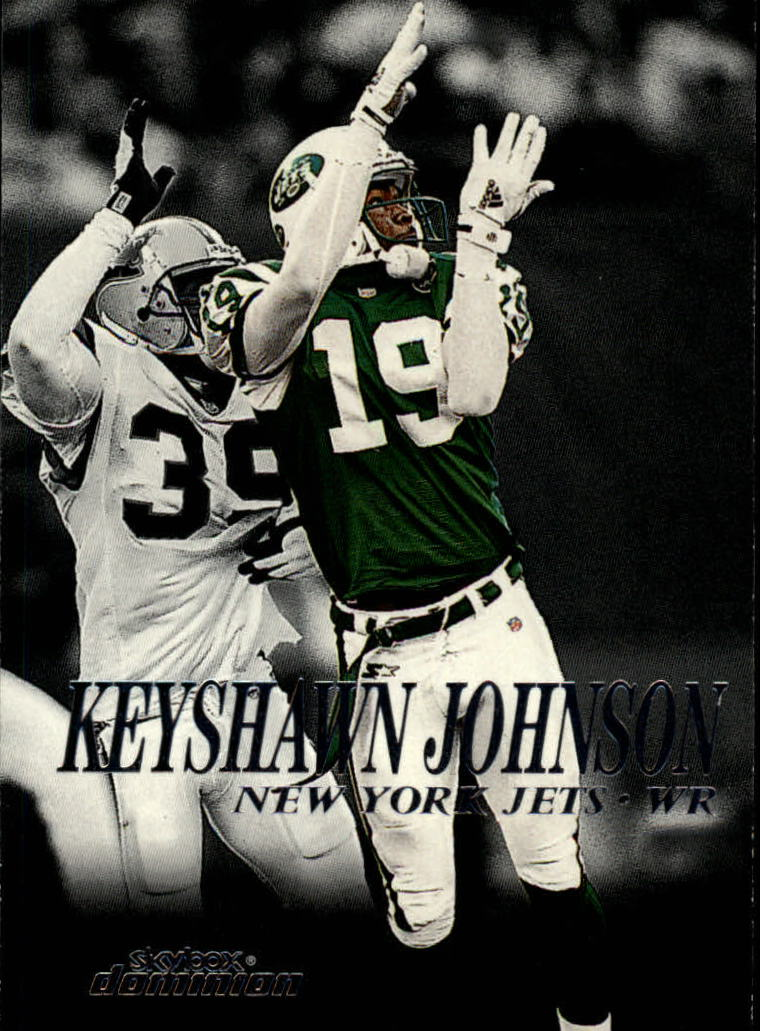 1999 SkyBox Dominion #147 Keyshawn Johnson