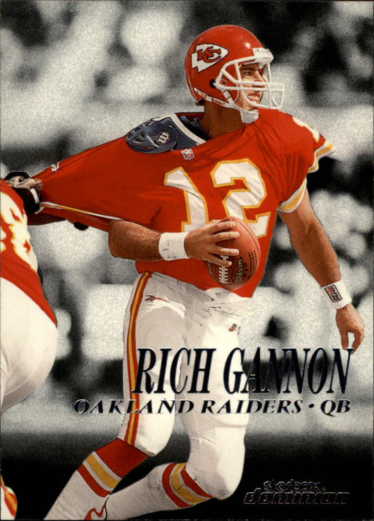 1999 SkyBox Dominion #159 Rich Gannon