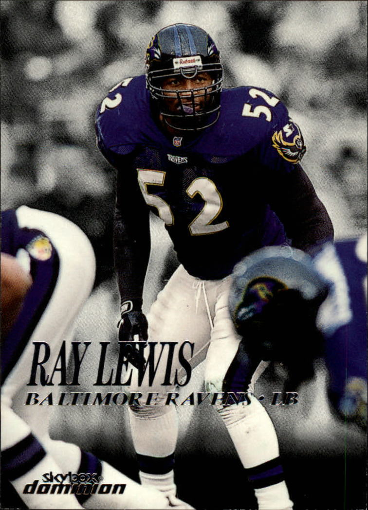 1999 SkyBox Dominion #163 Ray Lewis