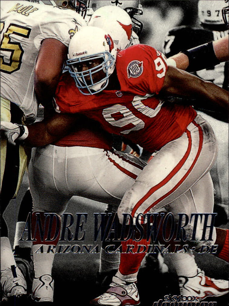 1999 SkyBox Dominion #193 Andre Wadsworth