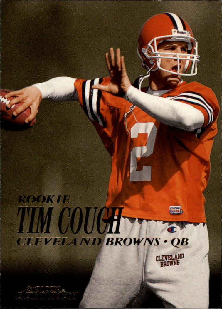 1999 SkyBox Dominion #201 Tim Couch RC