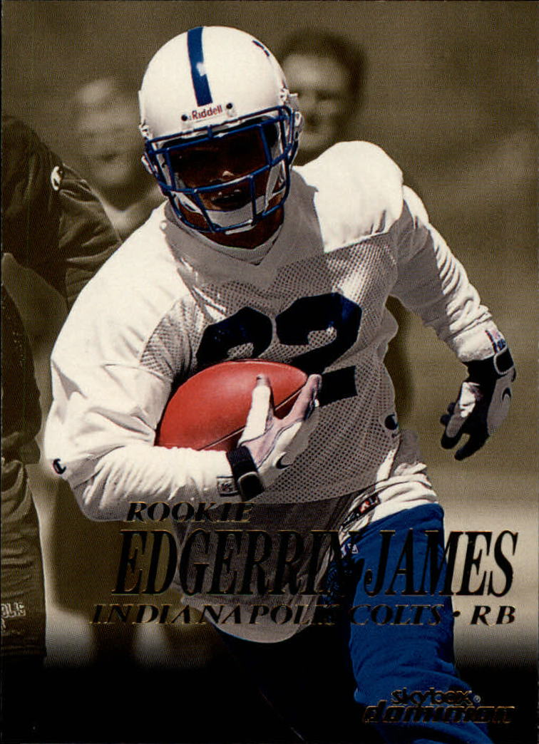 1999 SkyBox Dominion #207 Edgerrin James RC