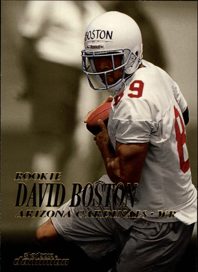 1999 SkyBox Dominion #210 David Boston RC