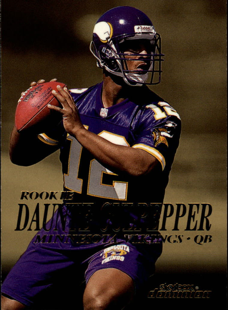 1999 SkyBox Dominion #213 Daunte Culpepper RC