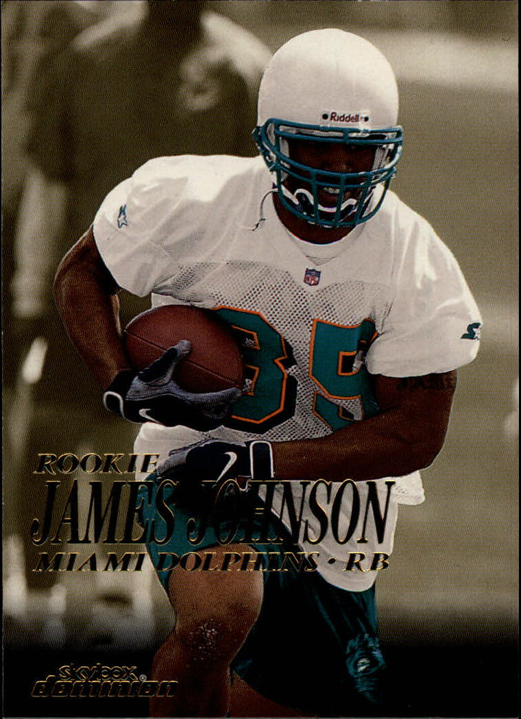 1999 SkyBox Dominion #217 James Johnson RC