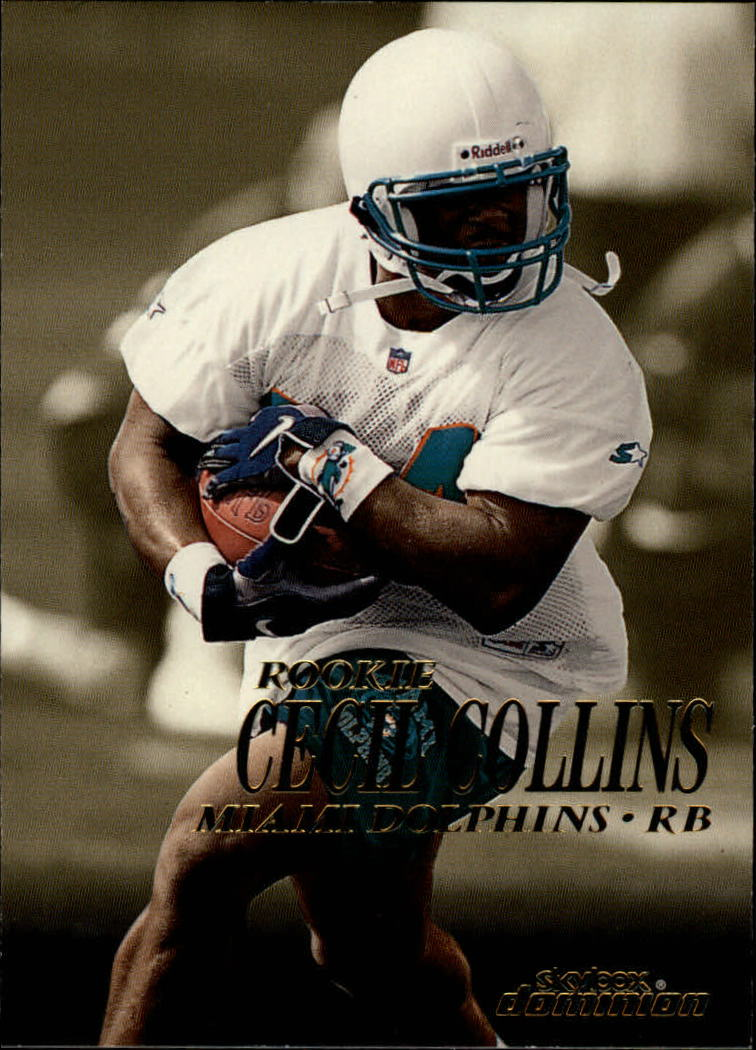 1999 SkyBox Dominion #219 Cecil Collins RC
