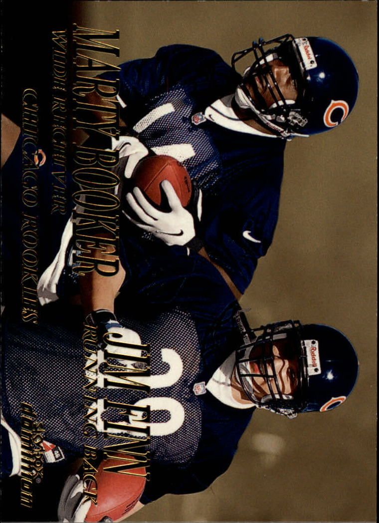 1999 SkyBox Dominion #221 Marty Booker RC/Jim Finn RC