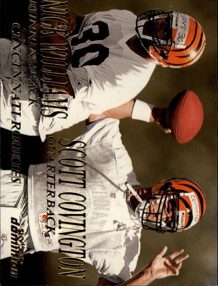 1999 SkyBox Dominion #222 Scott Covington RC/Nick Williams RC