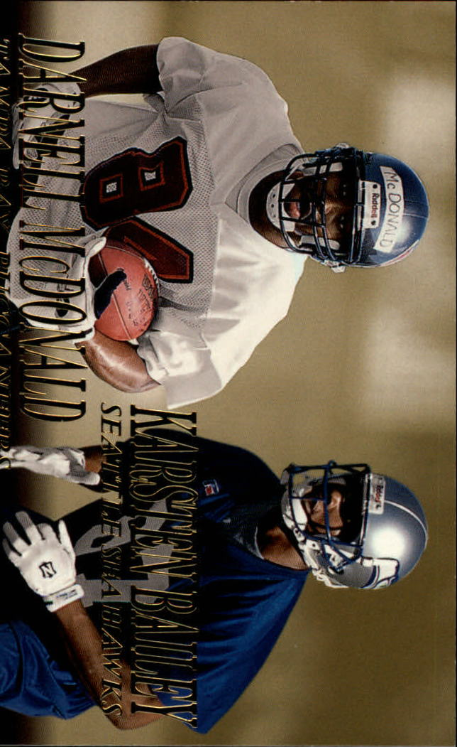 1999 SkyBox Dominion #238 Karsten Bailey RC/Darnell McDonald RC