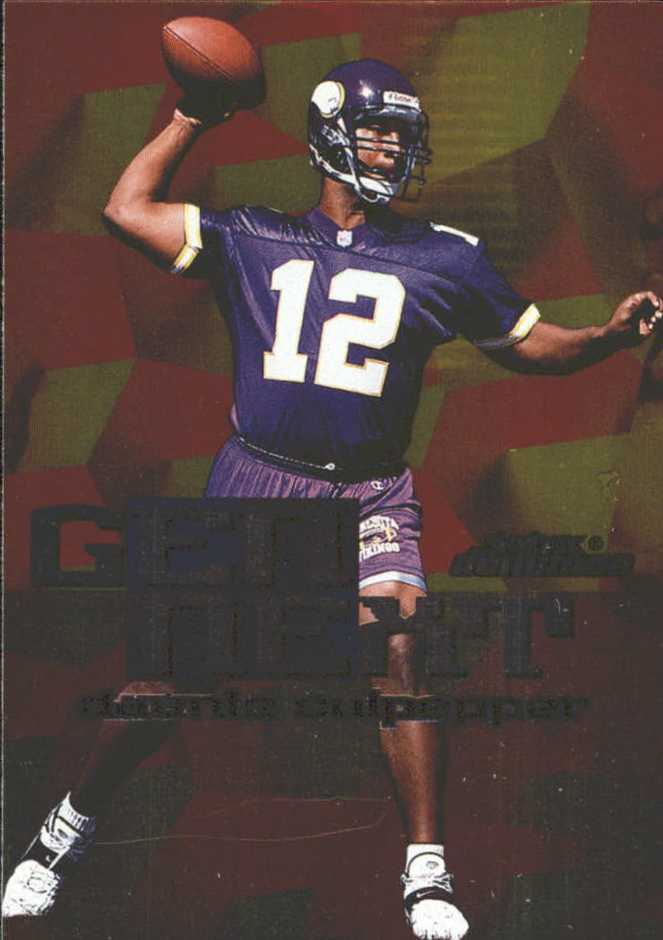 1999 SkyBox Dominion Gen Next #5 Daunte Culpepper