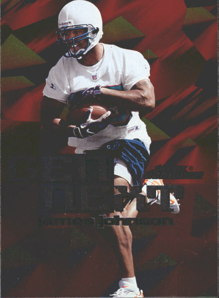 1999 SkyBox Dominion Gen Next #13 James Johnson