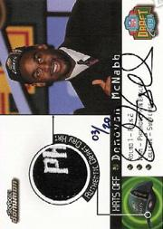 1999 SkyBox Dominion Hats Off Autographs #2 Donovan McNabb