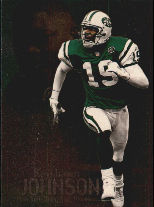 1999 SkyBox Molten Metal #75 Keyshawn Johnson