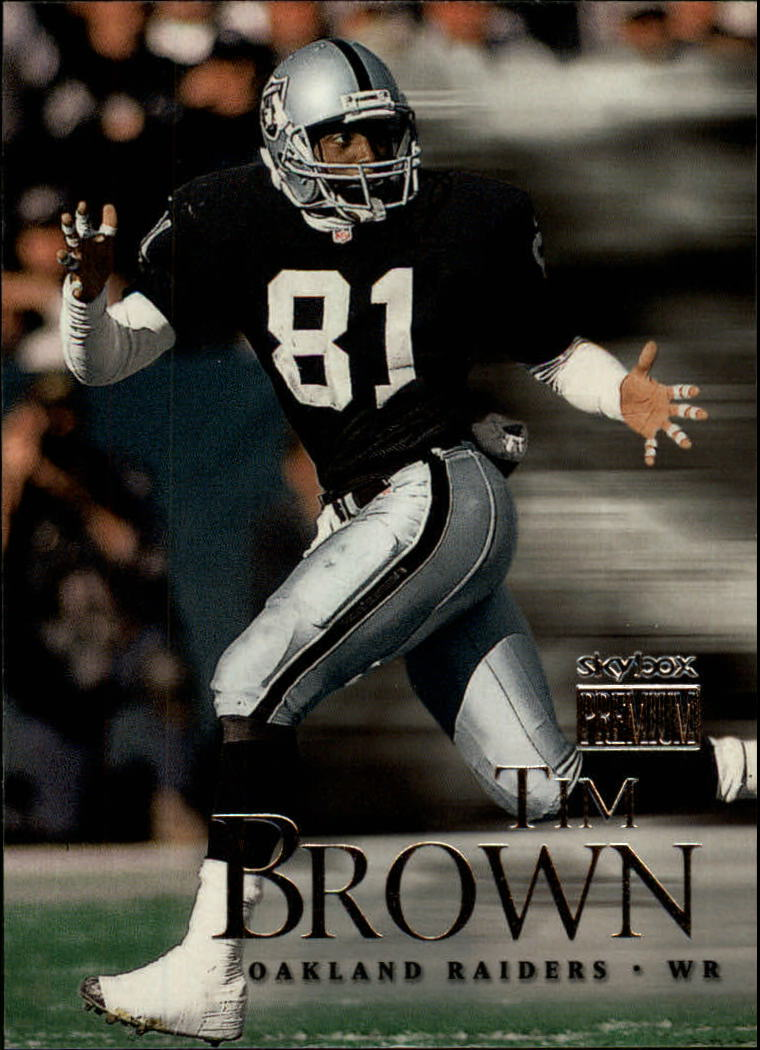 1999 SkyBox Premium #112 Tim Brown