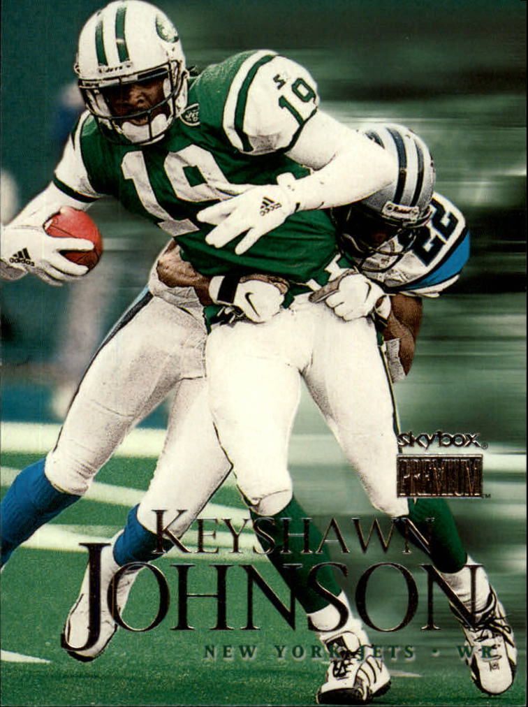 1999 SkyBox Premium #117 Keyshawn Johnson