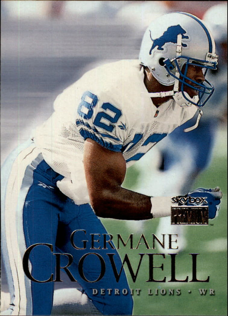 1999 SkyBox Premium #138 Germane Crowell