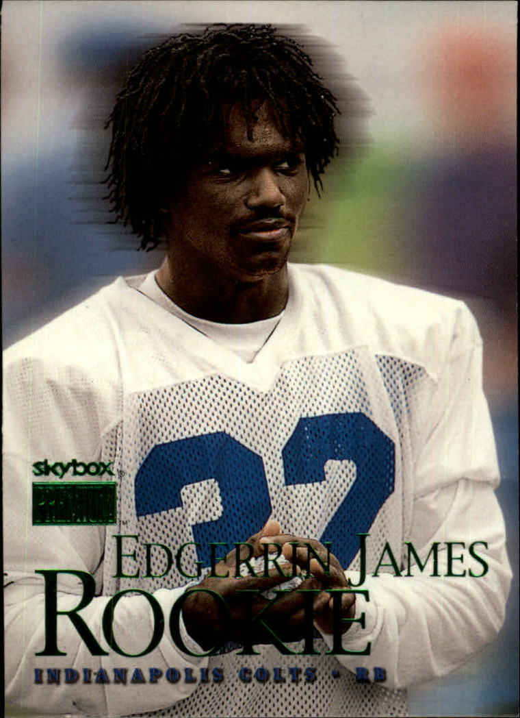 1999 SkyBox Premium #222 Edgerrin James RC