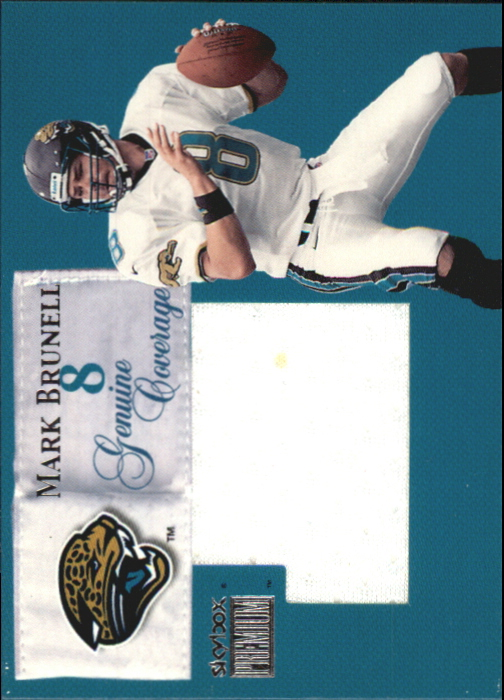 1999 SkyBox Premium Genuine Coverage #1GC Mark Brunell/420