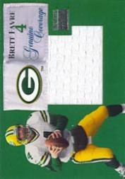 1999 SkyBox Premium Genuine Coverage #4GC Brett Favre/410