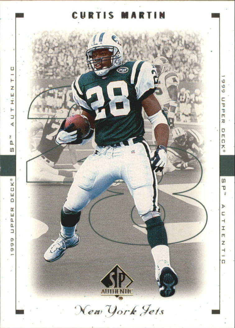 1999 SP Authentic #61 Curtis Martin