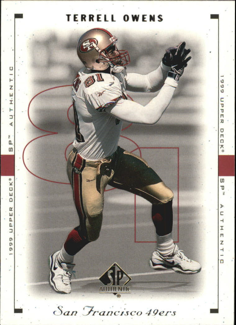 1999 SP Authentic #77 Terrell Owens