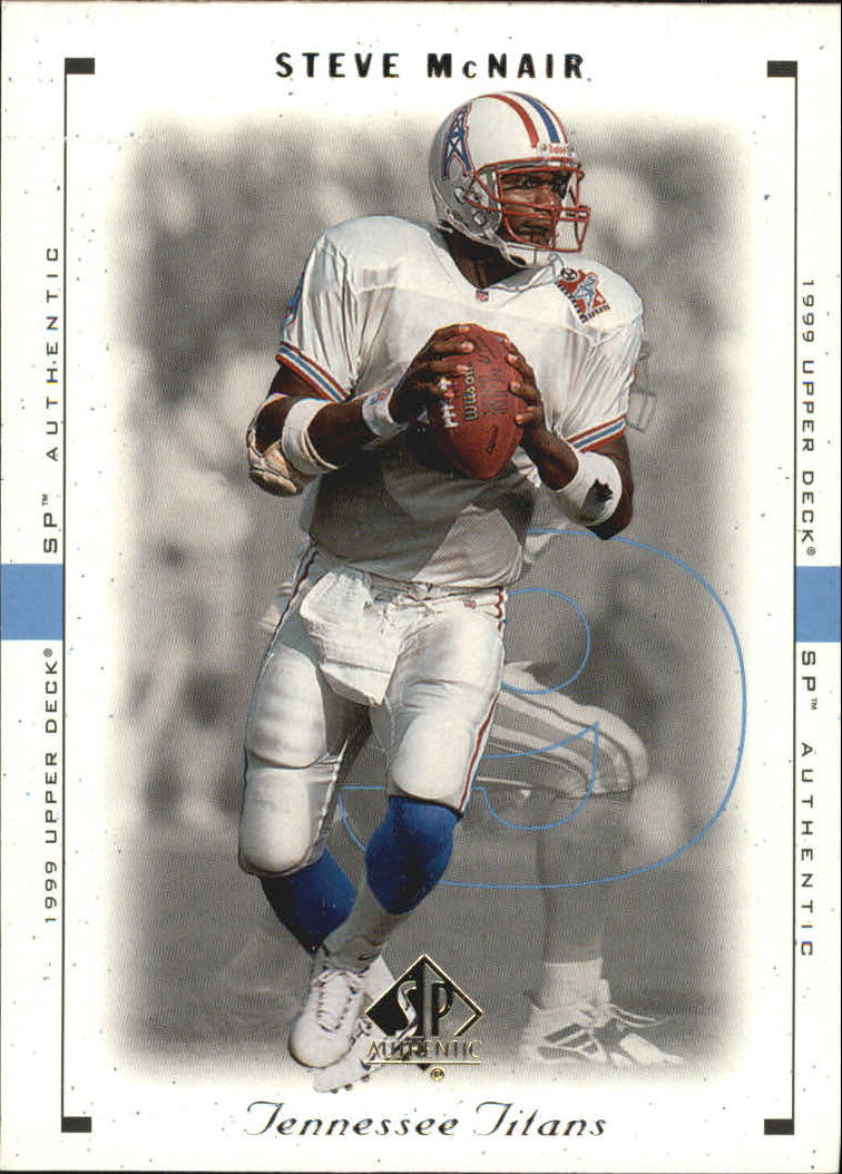 1999 SP Authentic #86 Steve McNair