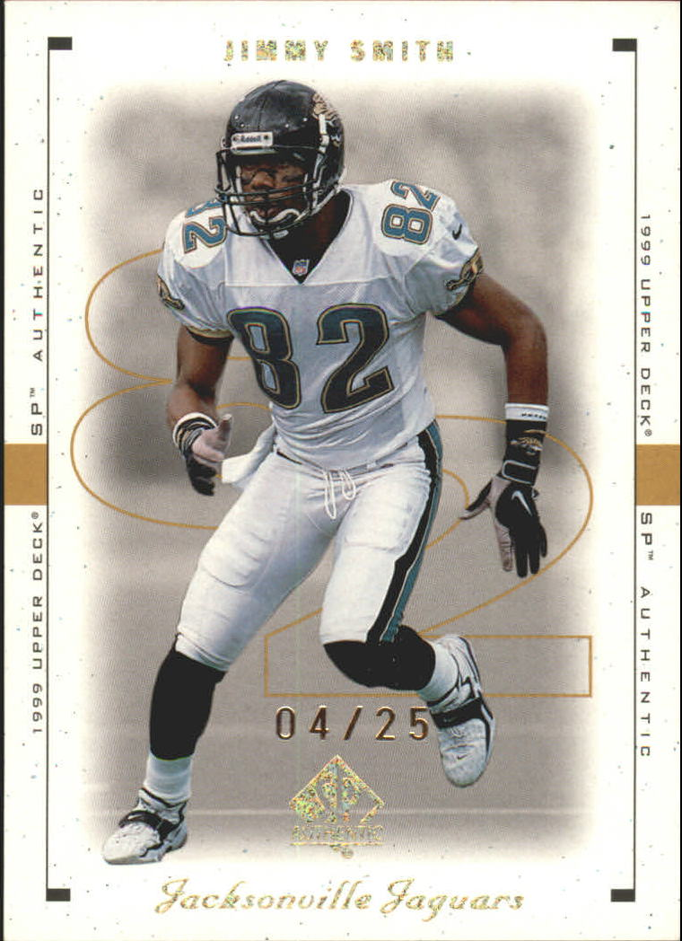 1999 SP Authentic Excitement Gold #40 Jimmy Smith