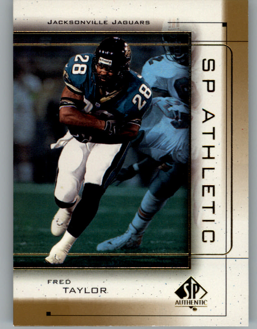 1999 SP Authentic Athletic #A7 Fred Taylor