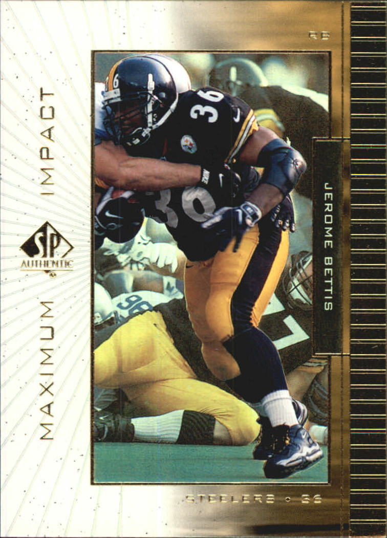 1999 SP Authentic Maximum Impact #MI7 Jerome Bettis