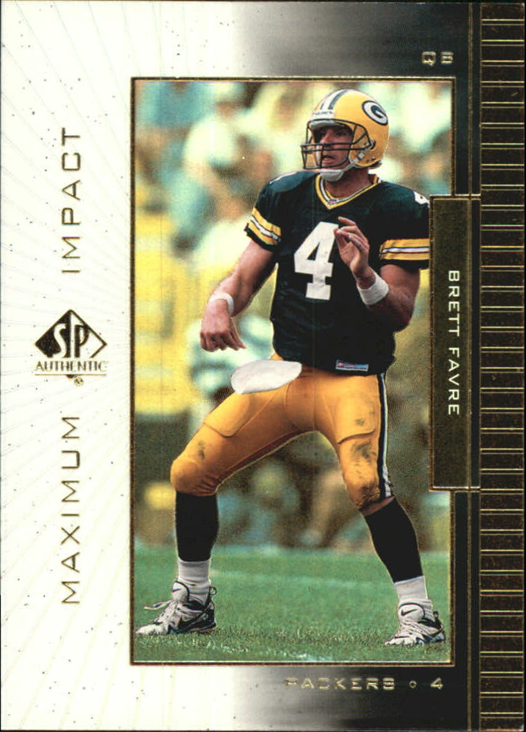 1999 SP Authentic Maximum Impact #MI10 Brett Favre
