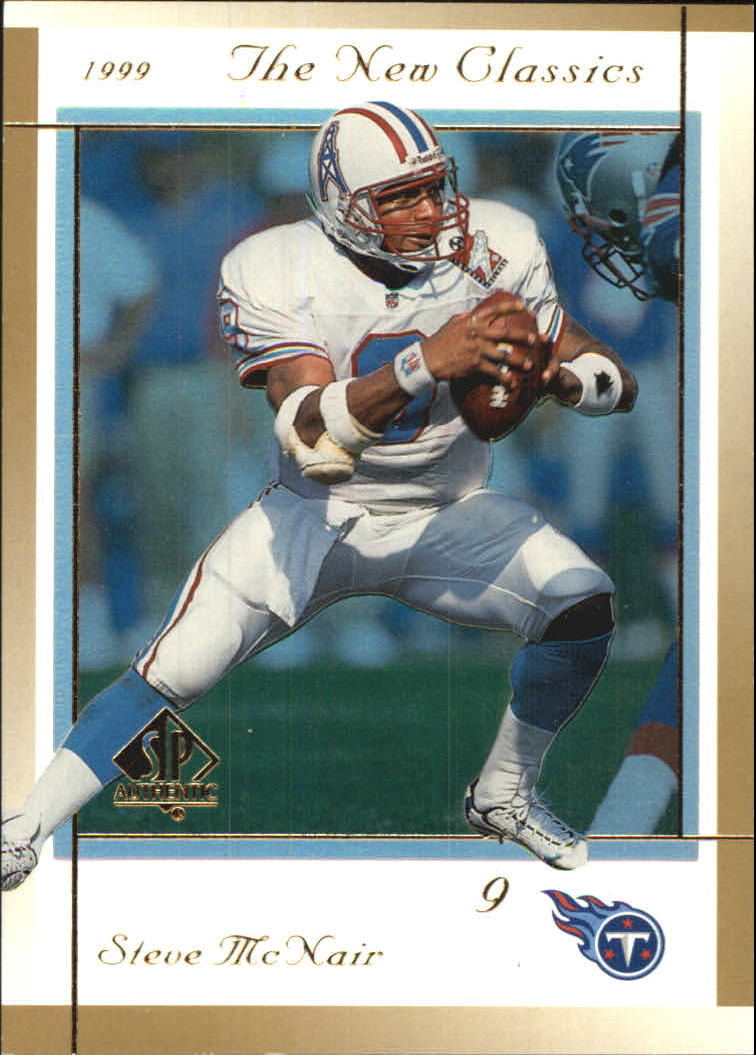 1999 SP Authentic New Classics #NC1 Steve McNair