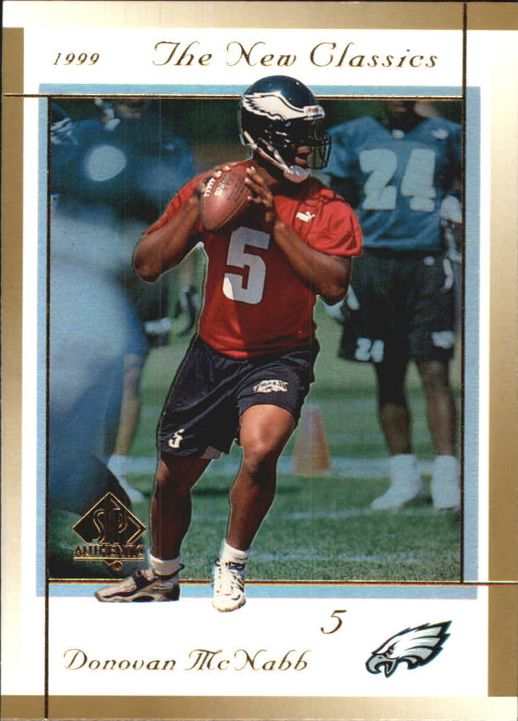 1999 SP Authentic New Classics #NC7 Donovan McNabb