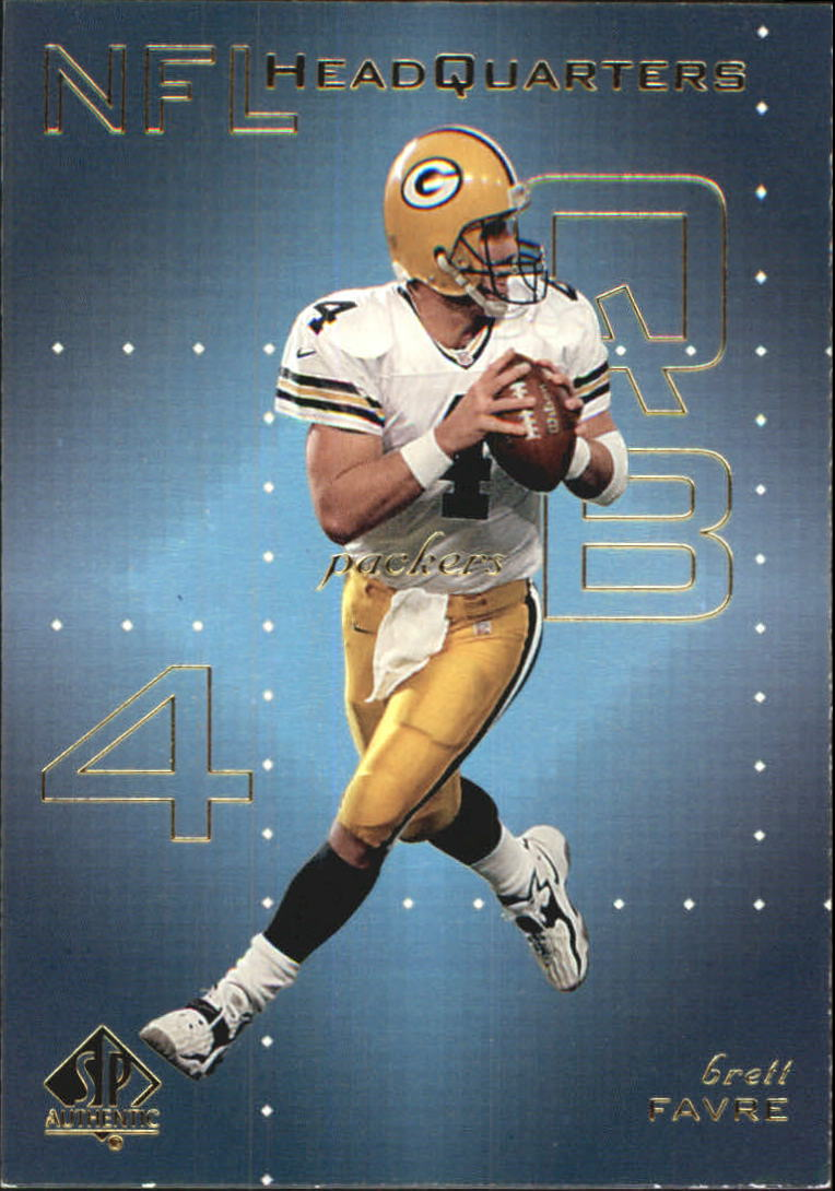 1999 SP Authentic NFL Headquarters #HQ1 Brett Favre