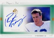 1999 SP Authentic Player's Ink Green #PMA Peyton Manning
