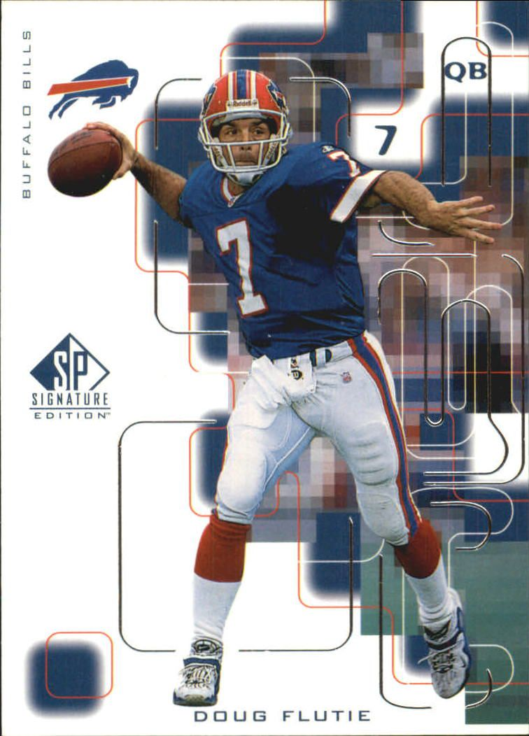 1999 SP Signature #13 Doug Flutie