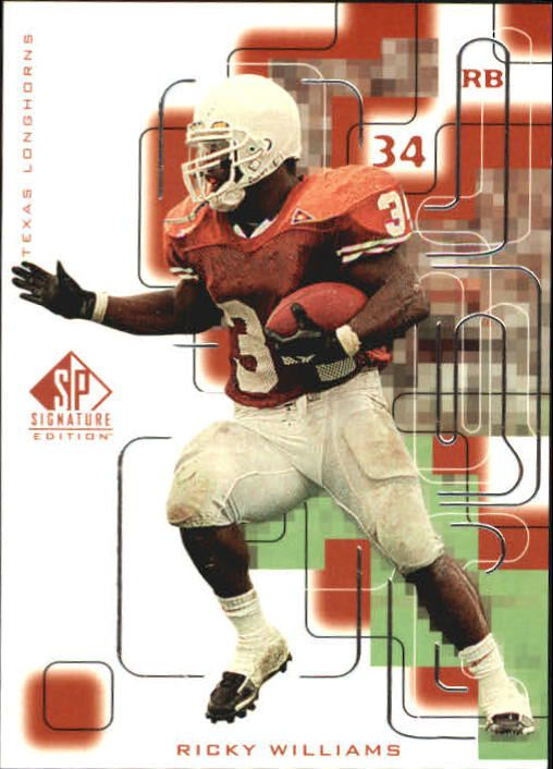 1999 SP Signature #171 Ricky Williams RC