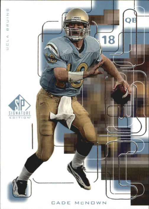1999 SP Signature #172 Cade McNown RC