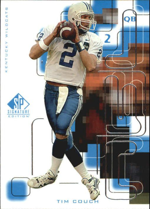1999 SP Signature #173 Tim Couch RC
